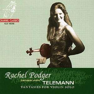 Album Cover: Racherl Podger Telemann Sonaten