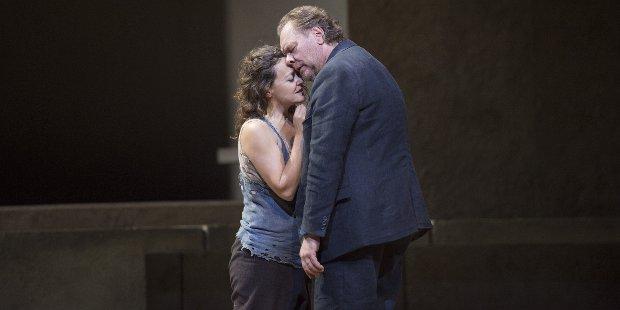 Evelyn Herlitzius (Elektra), Michael Volle (Orest)