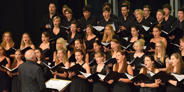 Für Auftritte wird hart gearbeitet im Bayerischen Landesjugendchor
