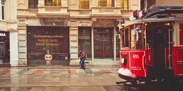 Vielfältige Stadt: Der Stadtteil Beyoğlu, in dem sich auch der Taksim-Platz befindet