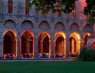 Hauptspielstätte des Musiksommers: Die Ruine des Klosters Chorin