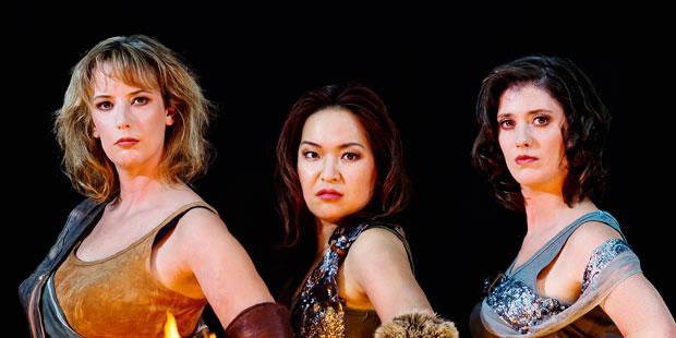 Jean Broekhuizen (Sigrune), Eun Yee You (Ortlinde), Sandra Janke (Schwertleite)