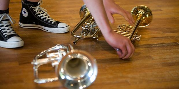 Klassik zu schätzen lernen durch das Musizieren - sowie hier beim Wettbewerb Jugend musiziert