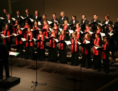 Dresdner Stimm-Profis: Doch die familiäre Atmosphäre der ersten Tage hat sich der Kammerchor bewahrt