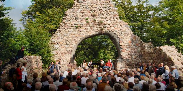 "Magischer Moment: das Belcea Quartett in der ""Wüsten Kirche"""