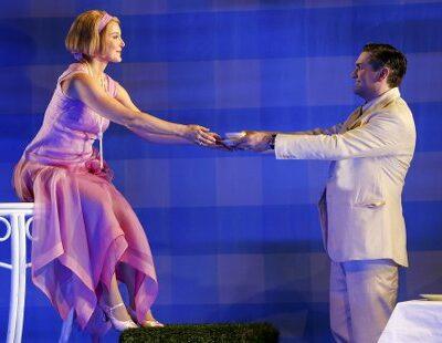 Maria Bengtsson (Daisy Buchanan), Peter Lodahl (Jay Gatsby)