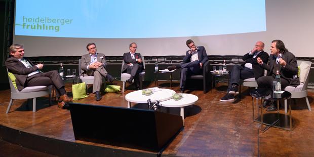 """Die Suche nach Innovation: Diskussion beim """"Heidelberger Frühling"""""""