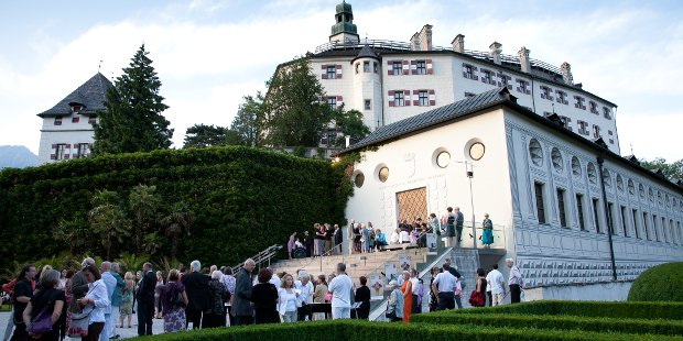 Herrschaftliche Kulisse auf Schloss Ambras