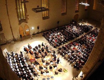 Mit dem Flair vergangener Tage: Die Johanniskirche in Magdeburg
