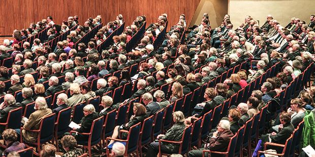 Gefragt ist das Publikum: Was denkt, hört, schätzt der Konzertbesucher?