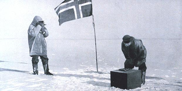 Letzten weißen Fleck von der Weltkarte wischen: die Entdeckung des Südpols