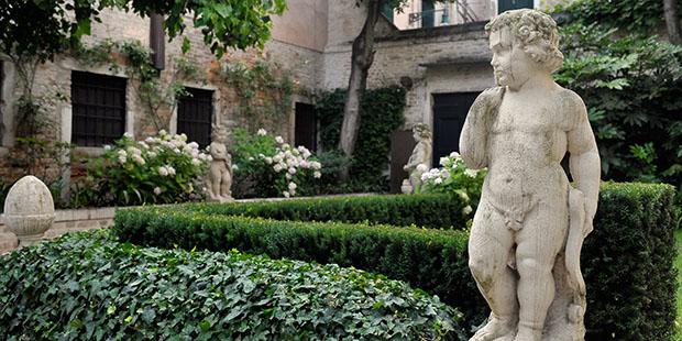 Venezianischer Hinterhof-Charme im Palazzetto Bru Zane