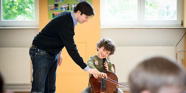 Früh übt sich, wer ein Meister werden will: Cellist Daniel Müller-Schott weiß das aus eigener Erfahrung