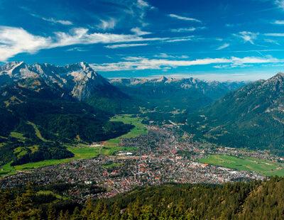 Mit der Aussicht auf den Wetterstein fand Strauss Inspiration nicht nur für seine Alpensinfonie
