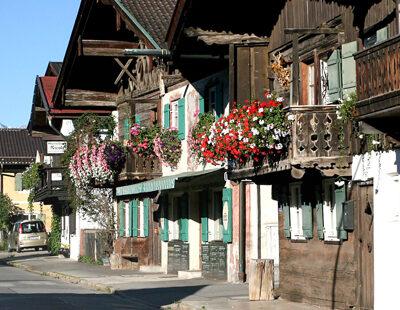 Idylle pur: Nicht nur Strauss liebt(e) Garmisch-Partenkirchen