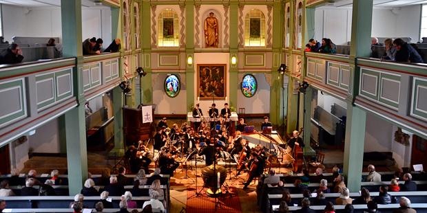 Über Jahrzehnte mit der Bach-Familie verbunden: St. Trinitatis in Ohrdruf