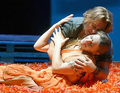 Liebesschwüre in Orange