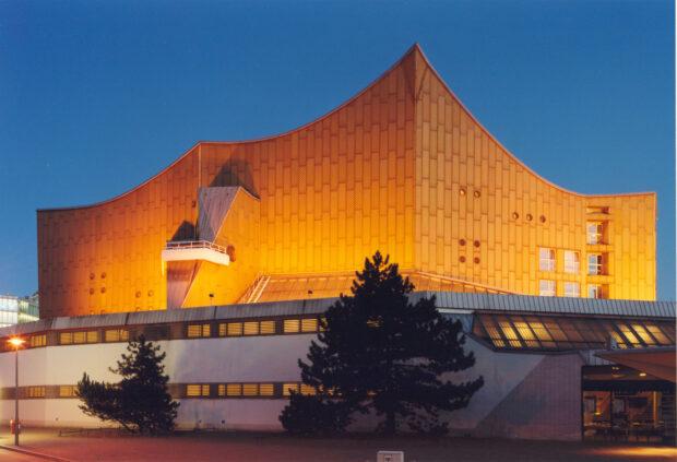 Philharmonie Berlin von aussen