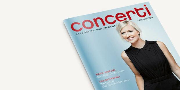 concerti Ausgabe Dezember 2016