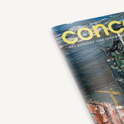 Druckfrisch für Sie: die neue concerti Januar-Ausgabe!