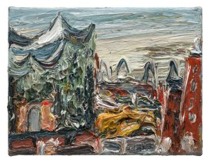 """Gemälde """"Elbphilharmonie am Morgen"""""""