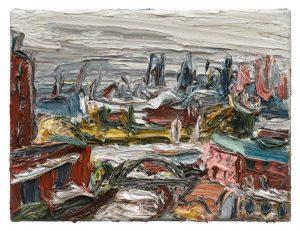 """Gemälde """"An den Landungsbrücken"""""""