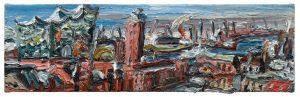 """Gemälde """"Hamburg-Panorama"""""""