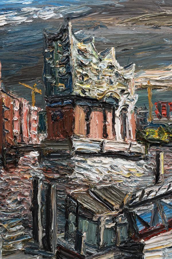 """Gemälde """"Elbphilharmonie im Morgenlicht"""""""