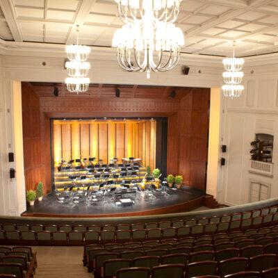 Anhaltisches Theater Dessau, Blick auf die Bühne