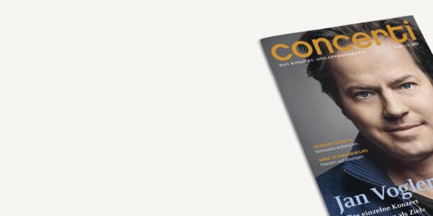 Druckfrisch für Sie: die neue concerti Februar-Ausgabe!