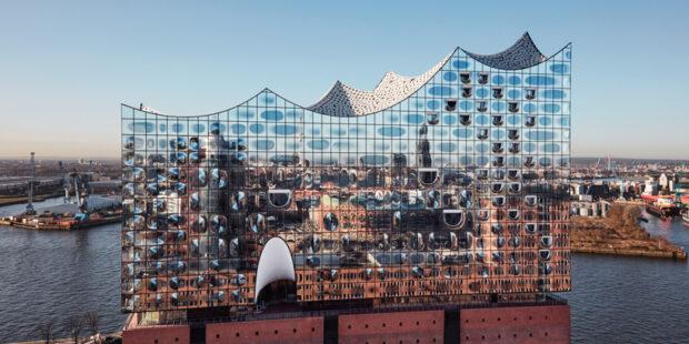 Nordansicht der Elbphilharmonie