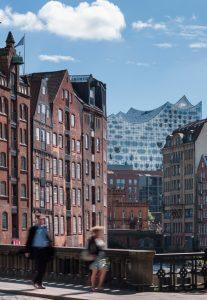 Elbphilharmonie und Speicherstadt