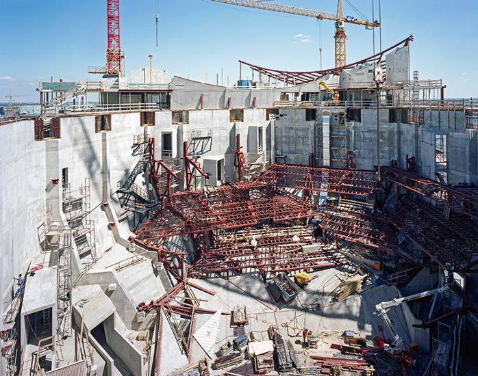 Elbphilharmonie (Großer Saal) im Bau
