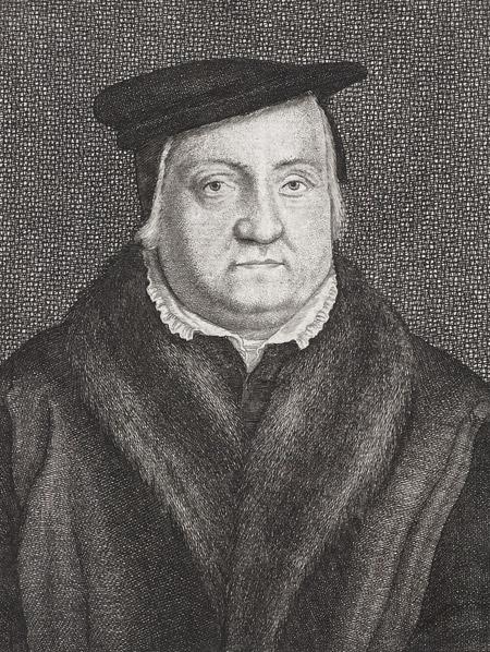 Martin Luther, Stich von Wenceslas Hollar