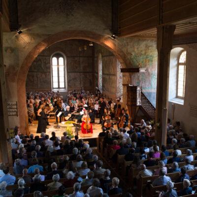 Gstaad Menuhin Festival/Kirche Saanen