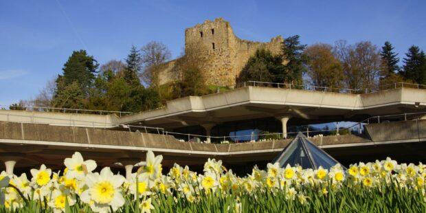 Ort des Geschehens: Das Kurhaus Badenweiler