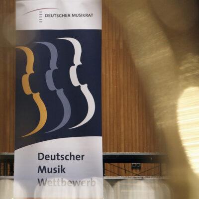 Plakat zum Deutschen Musikwettbewerb