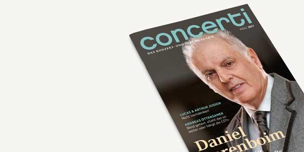 Das concerti Magazin: Ausgabe März