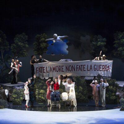 "Szenenbild der Oper ""Il Giasone"" von Francesco Cavalli"