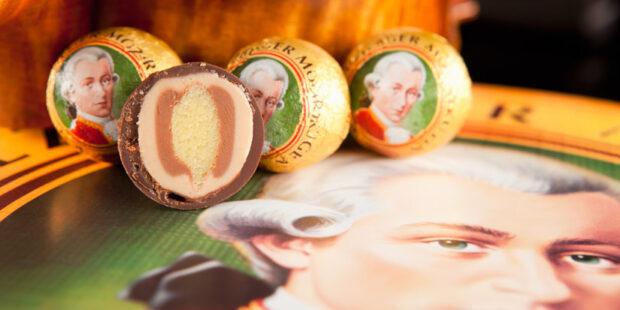 MozartPortrait und Mozart-Kugeln