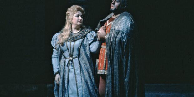 Montserrat Caballé und James McCracken als Desdemona und Otello