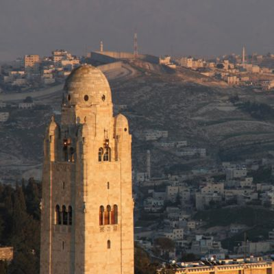 Turm des YMCA International Jerusalem