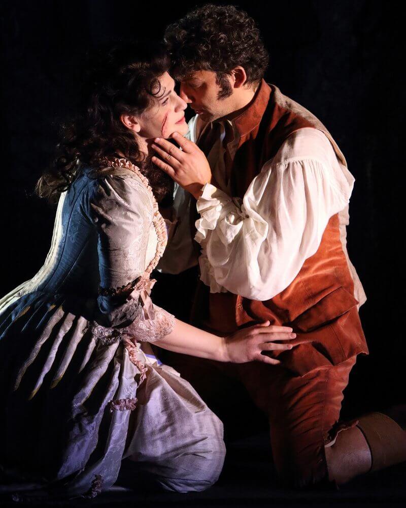 Traumpaar Anja Harteros (Maddalena di Coigny) und Jonas Kaufmann (Andrea Chénier)