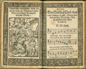 Babst'sches Gesangbuch von 1563