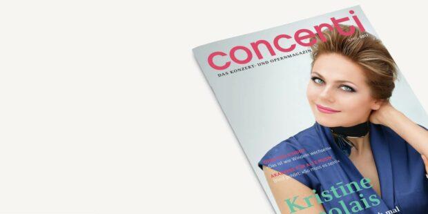 Druckfrisch für Sie: die concerti April-Ausgabe!