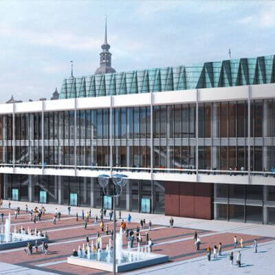 Kulturpalast Dresden (Visualisierung)