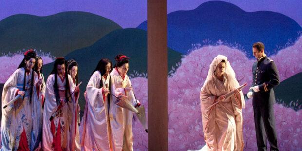 """Szenenbild aus """"Madama Butterfly"""""""