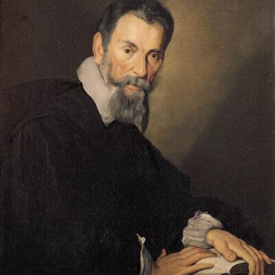 Claudio Monteverd, Gemälde von Bernardo Strozzi, ca. 1630