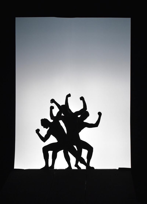"""Szenenbild aus """"La Fresque"""" des Ballett Preljocaj"""