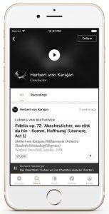idagio für iOS